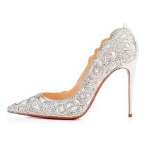 spring summer sexy high heels 12cm stilettos white wedding shoes big size lace pumps ladies