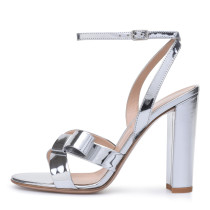 Women's Shoes Patent Leather Summer Light Up Shoes Club Shoes Heels  Stiletto Heel Sandals
