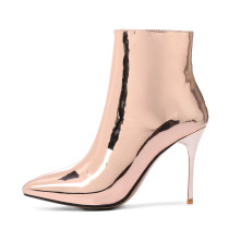 2018 spring autumn winter ankle boots big size gold silver club shoes small size 33
