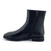 genuine leather chelasea boots flat ankl boots shoes woman ladies matin shoes