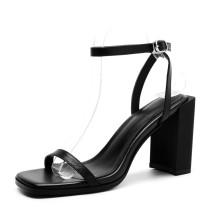 Arden Furtado 2018 summer high heels chunky heels