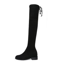 Arden Furtado 2018 spring autumn  over the knee high boots Stretch boots round toe