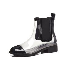 Arden Furtado 2018 spring autumn  round toe chunky heels boots woman shoes ladies