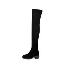 Arden Furtado 2018 spring autumn  chunky heels boots  round toe woman shoes ladies