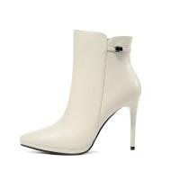 Arden Furtado 2018 spring autumn sexy stilettos party shoes ladies pointed toe ankle boots