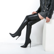autumn over the knee boots stilettos women's shoes high heels big size Stretch boots ladies fashion boots