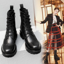 matin boots lace up fashion women's boots cool motercycle boots Minimum size 34 maximum size 40