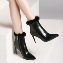 2018 autumn/winter European fashion classic hot style women's high heel ankle boots