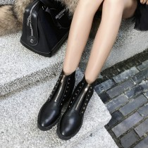 autumn winter fashion web celebrity classic rivers women's ankle boots matin boots genuine leather female shoes