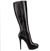 knee high boots platform stilettos women's shoes ladies boots