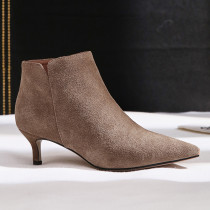 Autumn lower heels ankle boots women's boots size 33 40