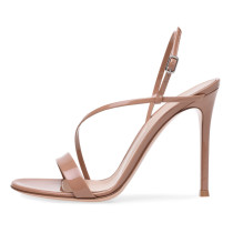 Arden Furtado Summer 2019 fashion women's shoes concise buckle strap sexy sandals stilettos heels 12cm party shoes big size 45