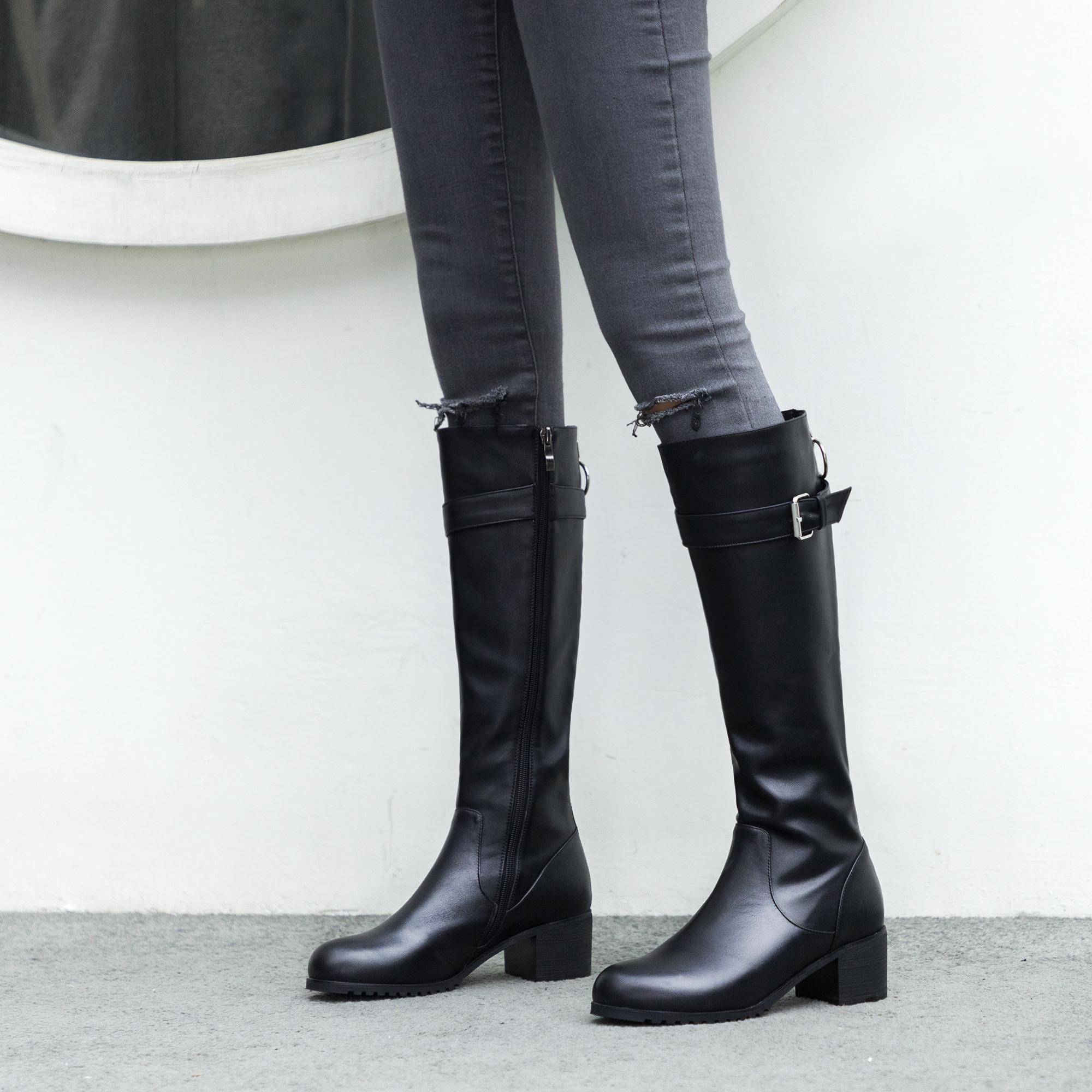 Fashion elegant ladies boots concise