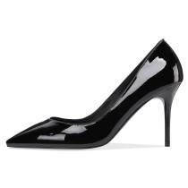 Summer pumps 2019 fashion trend women's shoes pointed toe stilettos heels elegant office lady  concise mature office lady
