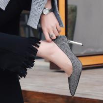 Summer 2019 fashion trend women's shoes stilettos heels stilettos heels sexy elegant ladies boots concise mature office lady