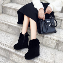 Fashion classics women's shoes in winter 2019 round toe zipper sexy concise mature short boots personality black matte novelty