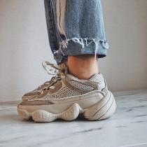 Spring and autumn 2019 fashion women's shoes lovers shoes round toe cross lace up gym shoes black beige big size 43 men's shoes sneakers