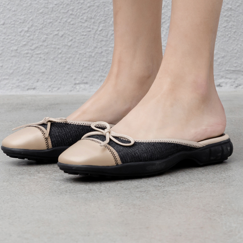 shoes flat butterfly-knot slippers