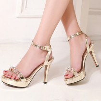 Arden Furtado summer 2019 fashion trend women's shoes stilettos heels buckle sandals party shoes platform crystal rhinestone