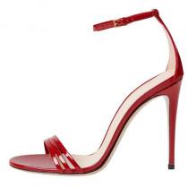 Arden Furtado summer 2019 fashion trend women's shoes red stilettos heels buckle sandals classics comfortable big size 43