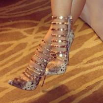 Arden Furtado summer 2019 fashion trend women's shoes pointed toe stilettos heels zipper concise serpentine narrow band