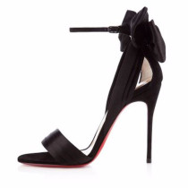 Arden Furtado summer 2019 fashion trend women's shoes narrow band leather concise pink butterfly-knot stilettos heels buckle sandals party shoes ladylike temperament personality