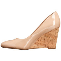 Arden Furtado summer 2019 fashion trend women's shoes nude pointed toe slip-on pumps party shoes classics concise wedges pure color