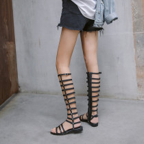 Arden Furtado summer 2019 fashion trend women's shoes sandals gladiator black concise classics narrow band customizable size