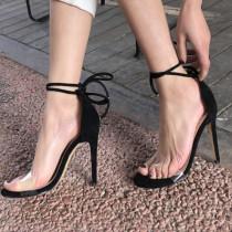 Arden Furtado summer 2019 fashion trend women's shoes  stilettos heels sandals ankle strap red Burgundy big size 43 pure color party shoes