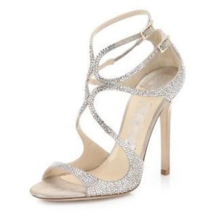 summer fashionable women's shoes sexy high heels stilettos cage sandals wedding shoes 45