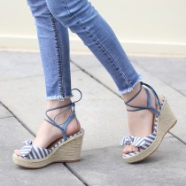 Arden Furtado summer 2019 fashion trend women's shoes wedges sandals waterproof size code can be customized narrow band concise classics office lady