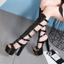 Arden Furtado summer 2019 fashion trend women's shoes chunky heels buckle sandals  classics concise sexy elegant gladiator