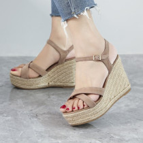 Arden Furtado summer 2019 fashion trend women's shoes sandals elegant waterproof concise classics office lady pink narrow band