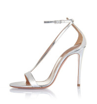 Arden Furtado summer 2019 fashion trend women's shoes stilettos heels pure color buckle sandals party shoes office lady narrow band big size 45