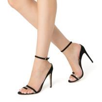 Arden Furtado summer 2019 fashion trend women's shoes stilettos heels sexy elegant buckle leather narrow band classics big size 45