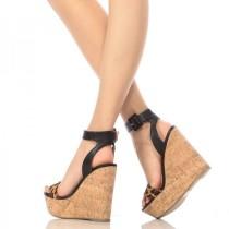 Arden Furtado summer fashion women's shoes sexy elegant waterproof wedges sandals big size 43