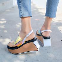 Arden Furtado summer 2019 fashion trend women's shoes waterproof sexy elegant sandals buckle  narrow band classics