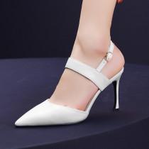 Arden Furtado summer 2019 fashion trend women's shoes pointed toe stilettos heels pointed toe stilettos heels pure color buckle