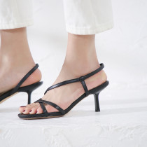 Arden Furtado summer 2019 fashion trend women's shoes stilettos heels slip-on black sexy elegant  beige new office lady sandals