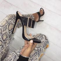 Arden Furtado summer 2019 fashion trend women's shoes sexy elegant buckle stilettos heels classics narrow band big size 40