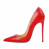 Arden Furtado Summer Fashion Women's Shoes Pointed Toe Stilettos Heels Slip-on Pumps Pure Color Sexy Concise Office Lady red heels