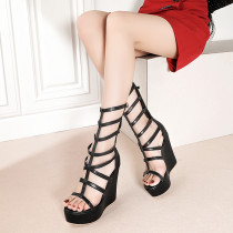 Arden Furtado Summer Fashion Trend Women's Shoes Sexy Back zipper Classics Narrow Band Waterproof Sandals Elegant Pure Color