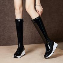 Arden Furtado Fashion Women's Shoes Winter  Elegant Ladies Boots Concise Mature Classics Casual Shoes Classics