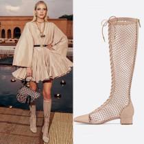 Arden Furtado summer 2019 fashion women's shoes mesh boots gladiator sandals