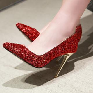 Arden Furtado Summer Fashion Trend Women's Shoes Pointed Toe Stilettos Heels Pumps  Sexy Elegant Pure Color Big size 46