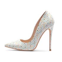 Arden Furtado Summer Fashion Women's Shoes Pointed Toe Stilettos Heels Sexy Elegant Slip-on pumps large size