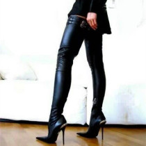 Arden Furtado spring autumn fashion high heels over the knee boots shoes woman pointed toe sexy stilettos Thigh high boots