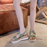 Arden Furtado Summer Fashion Trend Women's Shoes   Sexy Elegant Classics Concise Buckle Leisure Narrow Band Sandals