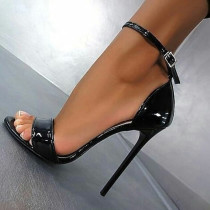 Arden Furtado Summer Fashion Trend Women's Shoes Stilettos Heels  Sexy Elegant Classics Pure Color concise Sandals Buckle Sling Back
