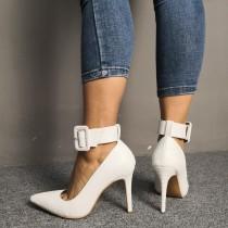 Arden Furtado Summer Fashion Trend Women's Shoes Pointed Toe Stilettos Heels  Sexy Classics Elegant Pure Color  Big size 47